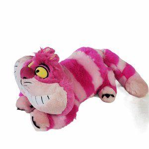 """Disney Store Cheshire Cat  18"""" Plush Wonderland"""